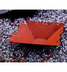 Rostschale Risse 44 x 44 cm Pflanztiefe 10,5 cm