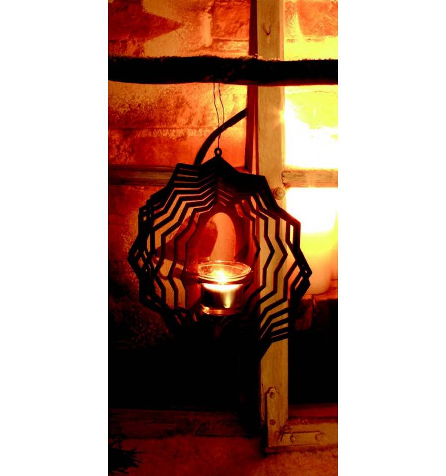 windlicht 1 zum h ngen h he 25 cm breite 23 5 cm metallmichl. Black Bedroom Furniture Sets. Home Design Ideas