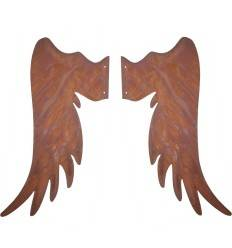 Metall Engelsflügel 65 cm hoch - zum Holzengel basteln