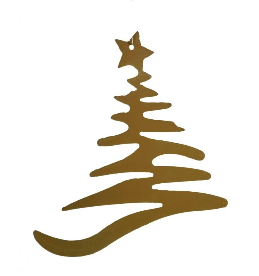 Christbaumschmuck Weihnachtsbaum Gross 18 Cm Hoch Metallmichl