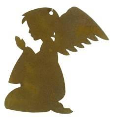 Christbaumschmuck Engel betend, klein, Höhe 8 cm, Putte Engelsputte