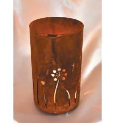 Metall Windlicht Pusteblume Höhe 20 cm, Ø 12 cm