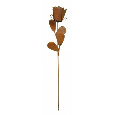 Rose Gartenstecker 45 cm hoch