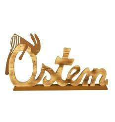 """Holzschild """"Ostern"""" - Höhe 32 cm - Breite 60 cm"""