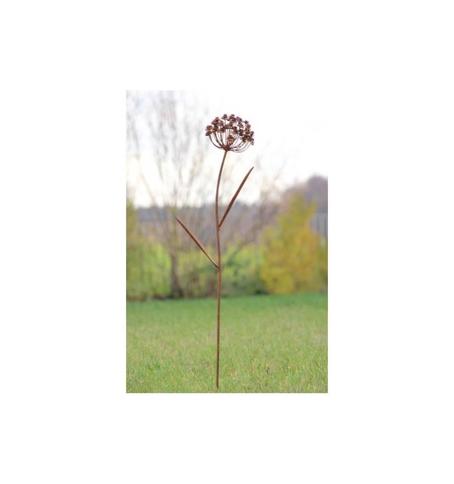 Rostblume Amelie als Gartenstecker u Blumendeko für den Garten kaufen