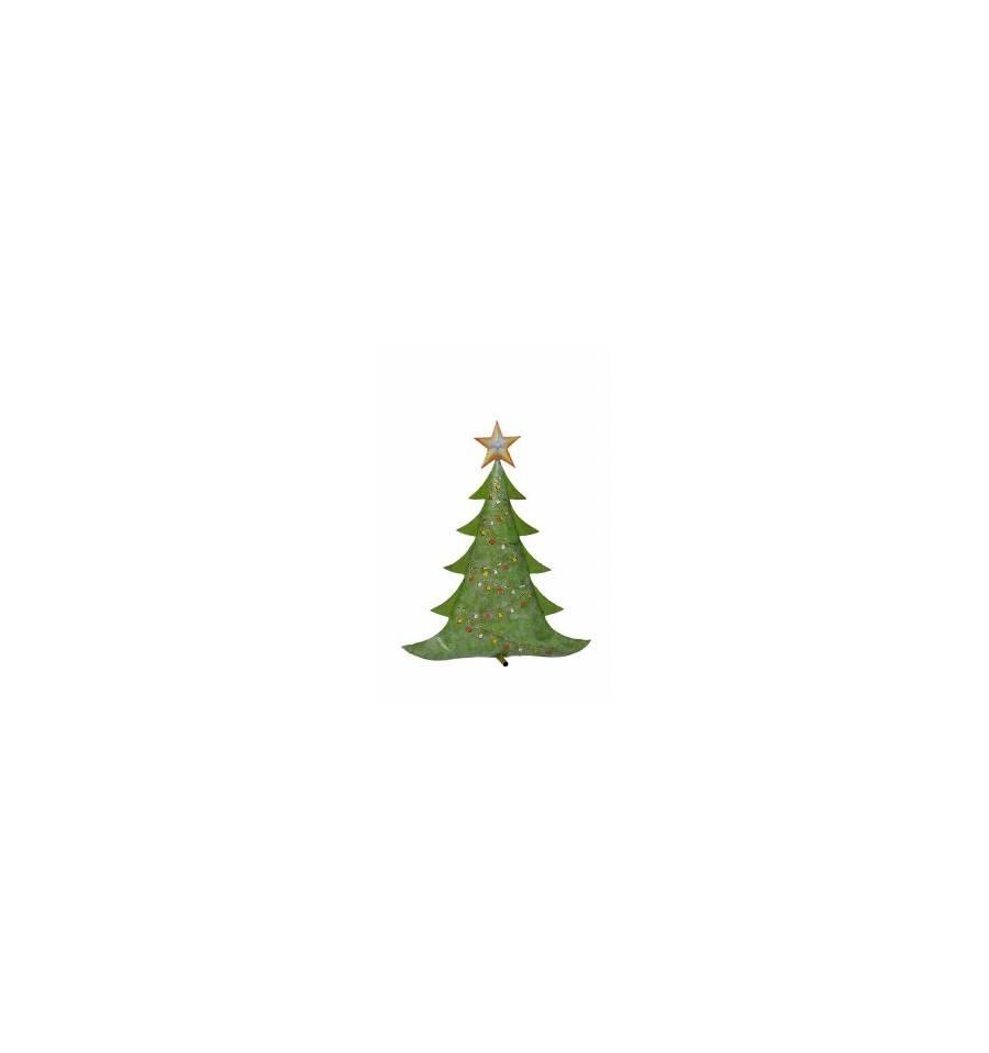 Tannenbaum Groß.Metall Tannenbaum Groß Hellgrün 82x68x18 Cm