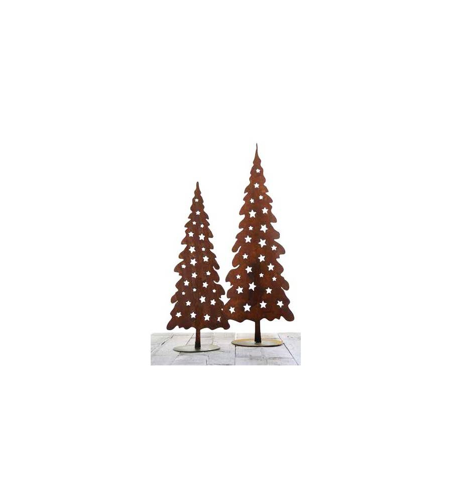deko weihnachtsbaum aus metall rostig g nstig online kaufen. Black Bedroom Furniture Sets. Home Design Ideas