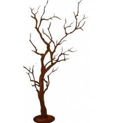 Knorriger Deko Baum auf Platte Höhe 120cm