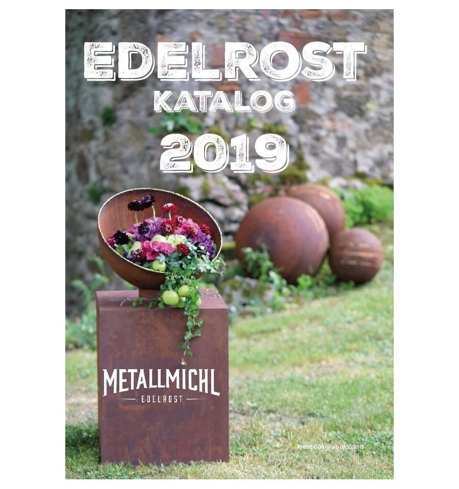 Edelrost Katalog 2019 Mit 500 Gartendeko Rost Ideen Metallmichl