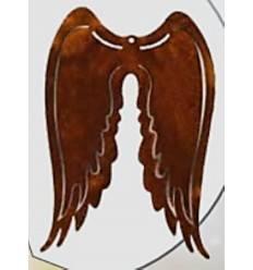 Engelsflügel z. Hängen 8 x 12 cm