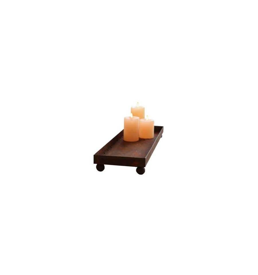 Kerzentablett Metall Als Tischdeko Kaufen