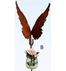 Flügel an Hakenstab