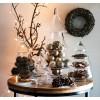 Deko Weihnachtsbaum Glas als Keksdose |Etagere Deko für Weihnachtsdeko im Glas