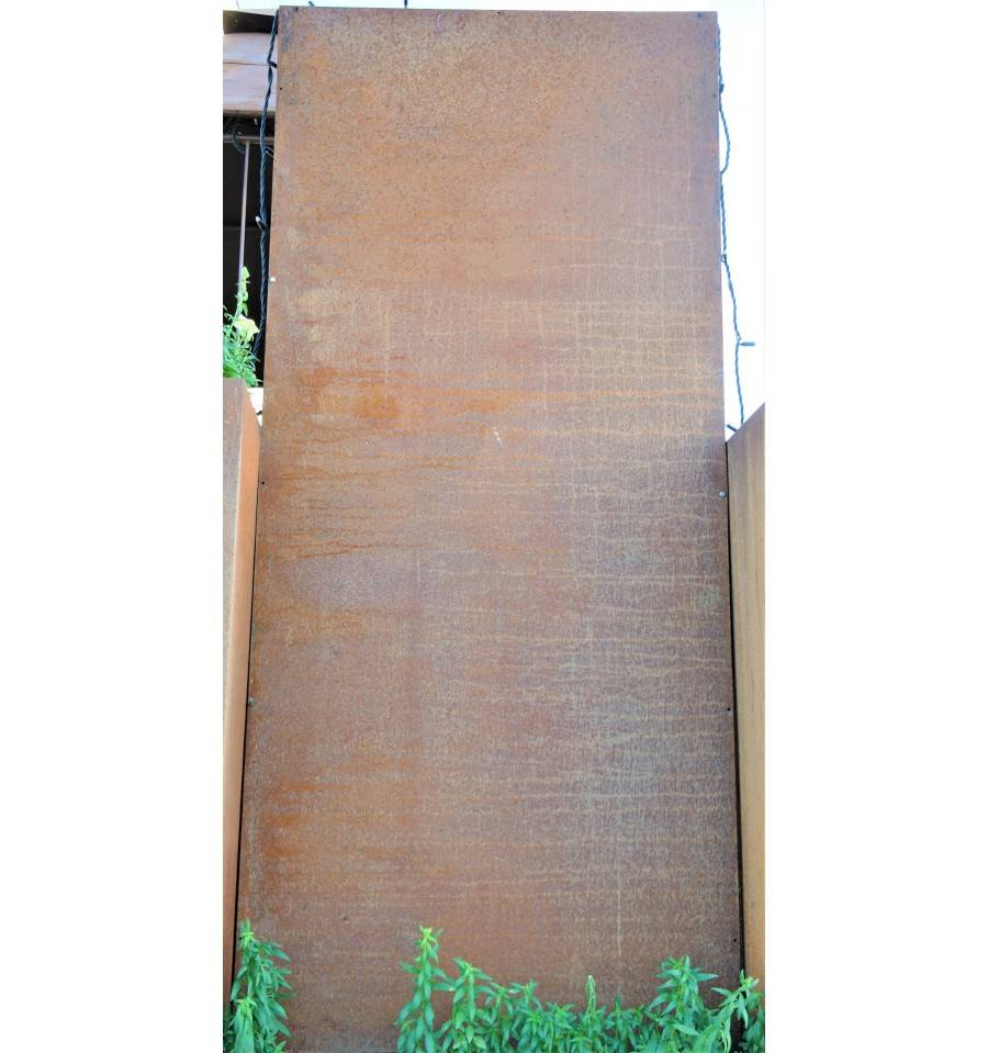 Rost Ruckwand Fur Sichtschutz 80 X 180 Cm