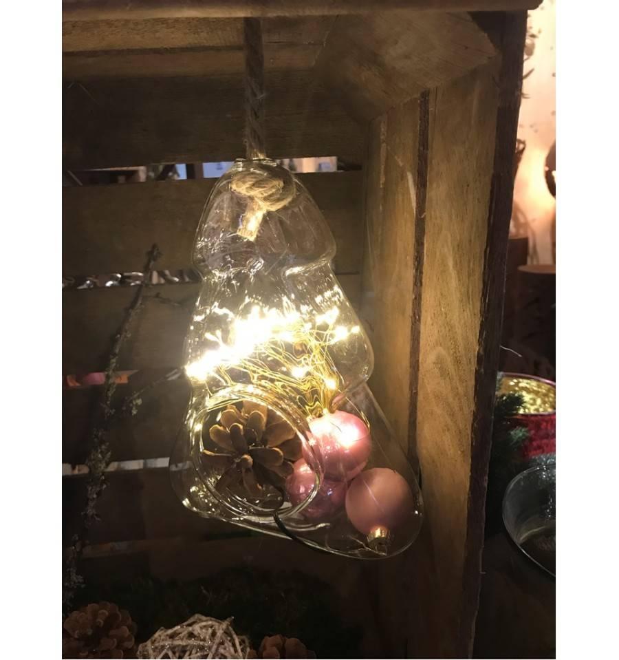 deko weihnachtsbaum aus glas zum aufh ngen g nstig kaufen. Black Bedroom Furniture Sets. Home Design Ideas