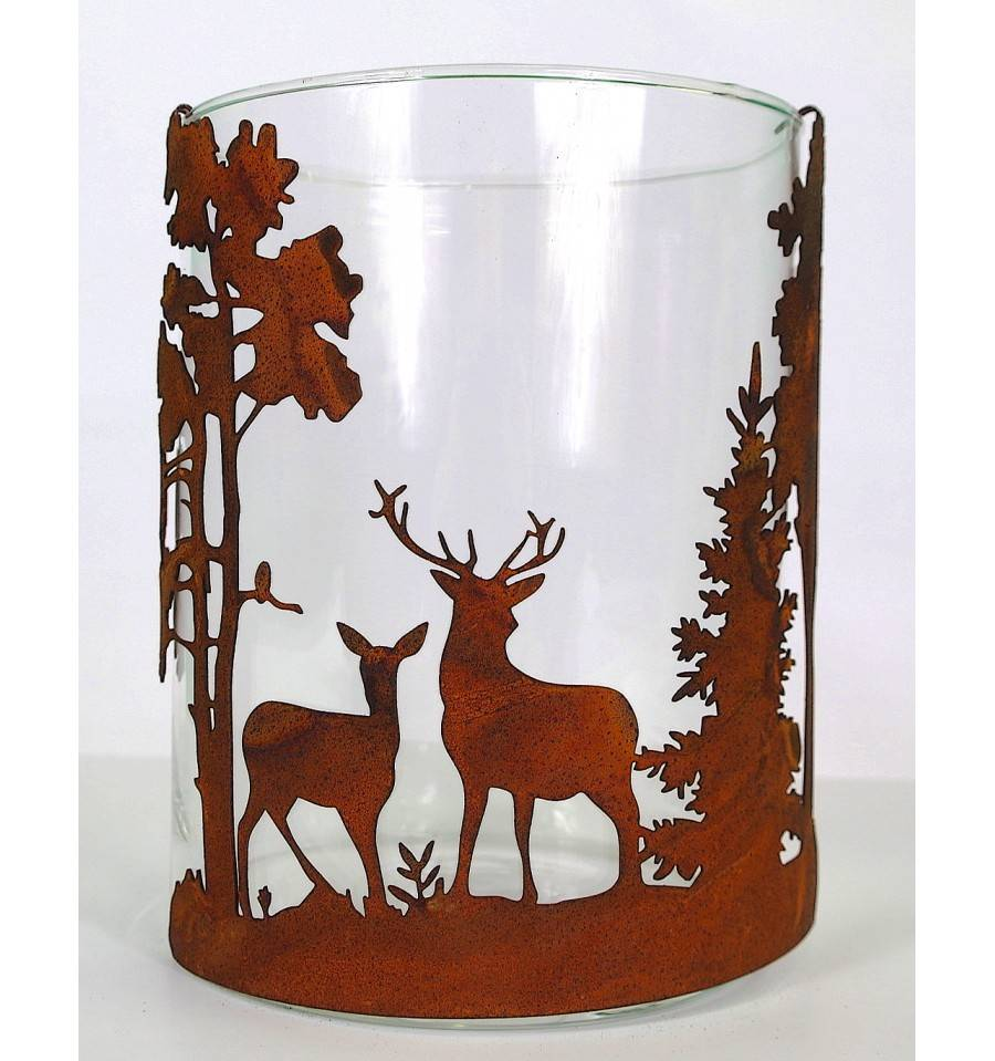 Teelicht  Tischdekoration Kerzenhalter Osterhase stehend Bunt Größe 15 cm NEU