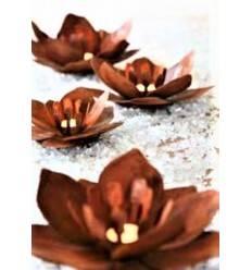 Blume Fleur aus Rost-Metall - Edelrost Blüte, Metall-Blume, Blumendeko, Gartendeko Rost, Rost Deko