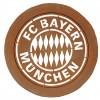 FC Bayern Logo Wandbild 50 cm Ø