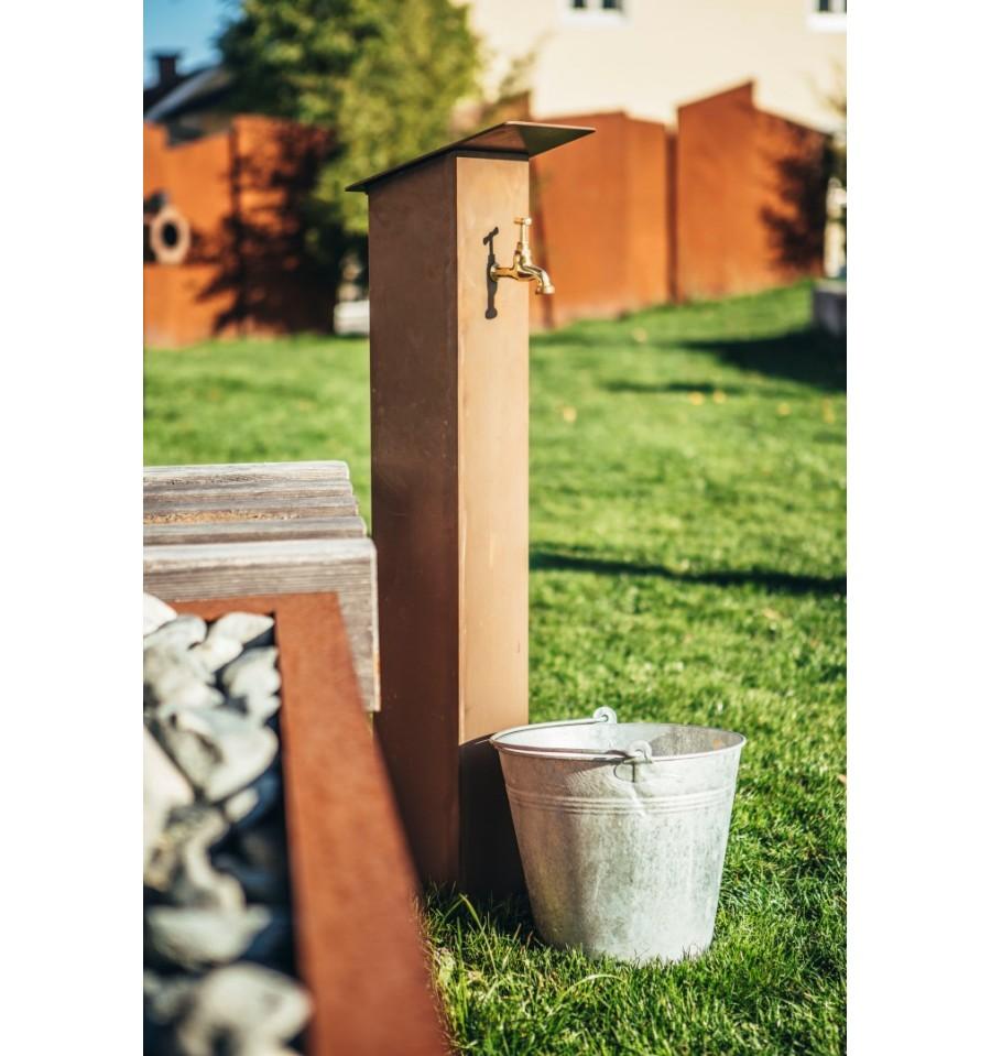 Metall Wasserzapfsäule Und Rostsäule Mit Wasserhahn Kaufen