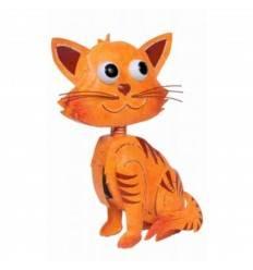 "Katze ""Leo"" groß orange Höhe 41 cm"