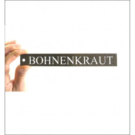 """Kräuterschild """"Bohnenkraut"""""""