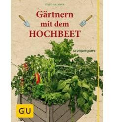 Gärtner mit dem Hochbeet