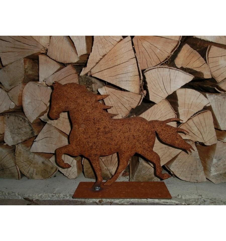 Friesenpferd kleinbauernhoftiere metallmichl aus edelrost for Tiere aus rostigem eisen