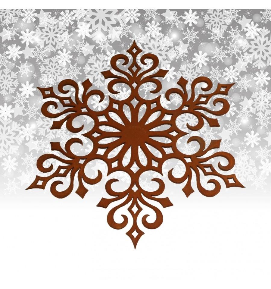Flocke 4 d 20 cm christbaumschmuckwinter weihnachten for Wohndesign sera