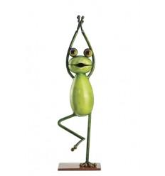 Yoga Frosch - Der Baum Höhe 35,5 cm