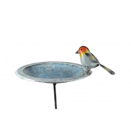 Vogeltränke Vogelbad Rotkehlchen Höhe 99 cm