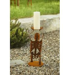 "Haloween Skelett ""kiender Buttler"" - Gruselige Deko Figur - Höhe 62 cm"