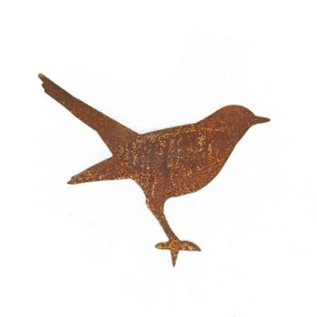 vogel amsel stehend mit baumspie h he 20 cm. Black Bedroom Furniture Sets. Home Design Ideas