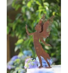 Dekofigur Engel Valerie mit doppelten Flügel - Höhe 35 cm