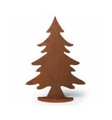 Deko Tannenbaum - Weihnachtsbaum aus Metall Höhe 45 cm