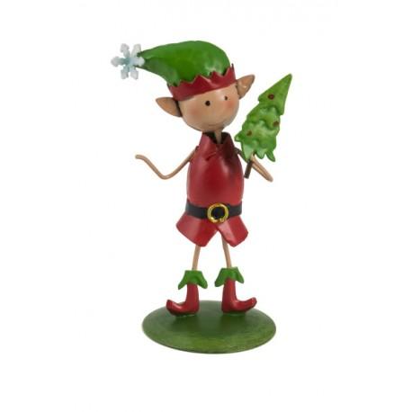 """Weihnachts Elfe """"Rudolf"""" - Höhe 10 cm"""