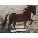 Deko Pferd lebensgroß -  Länge 200 cm