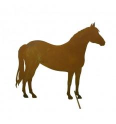 Bauernhof Pferd mittelgroß, seitlich stehend, 57cm lang, 50cm hoch