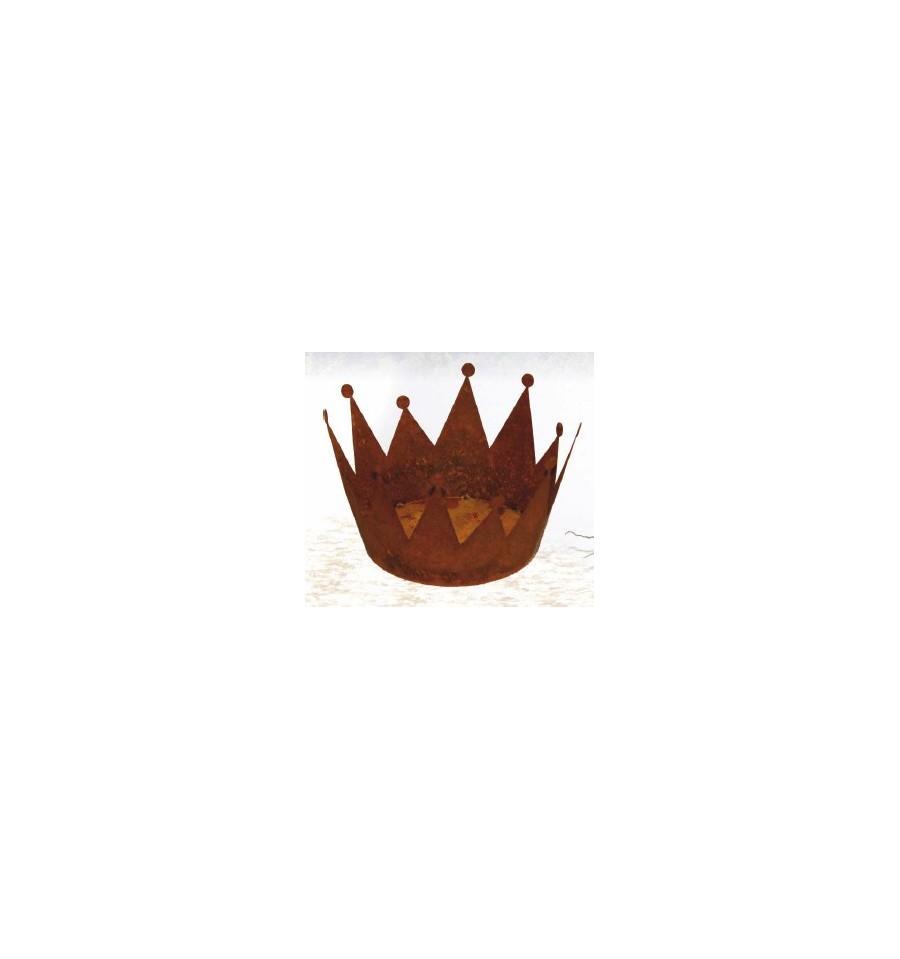 Rost krone zum bepflanzen edelrostkrone for Gartendeko rost krone