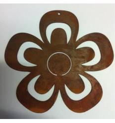Rostblume zum Aufhängen 2 Größen Ø 14 / 19 cm
