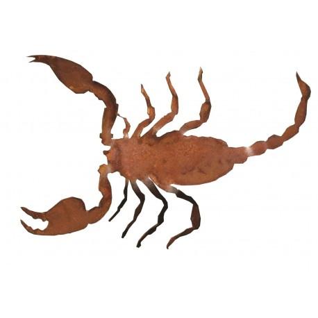 Rost Skorpion -17 cm lang