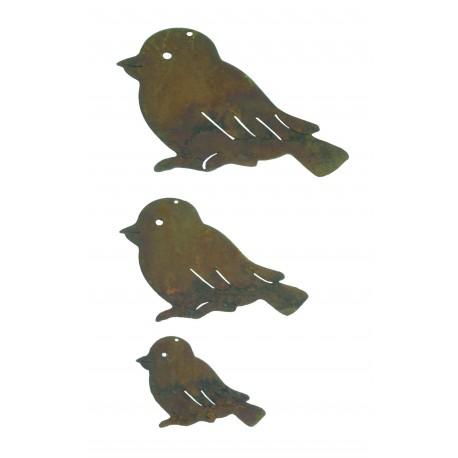 Vogel Deko zum Frühlingskranz Basteln