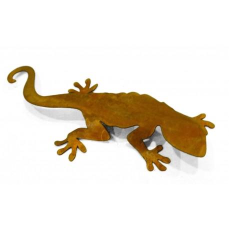 Rost Salamander - Edelrost Eidechse