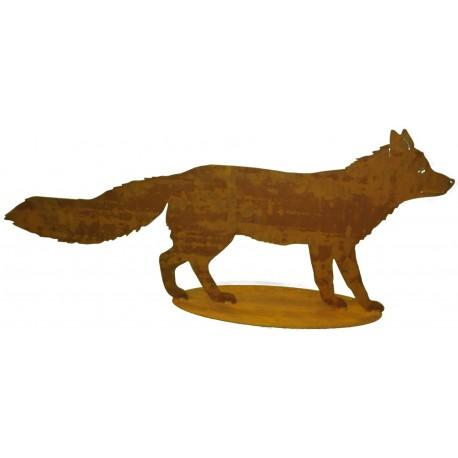 Fuchswald und bergetiere metallmichl aus edelrost for Tiere aus rostigem eisen