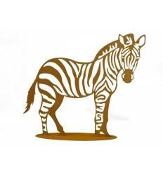 Edelrost Zebra 40 x 40 cm