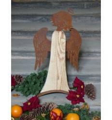 Edelrost weihnachtsdeko rostige deko f r weihnachten for Deko aus rostigem blech
