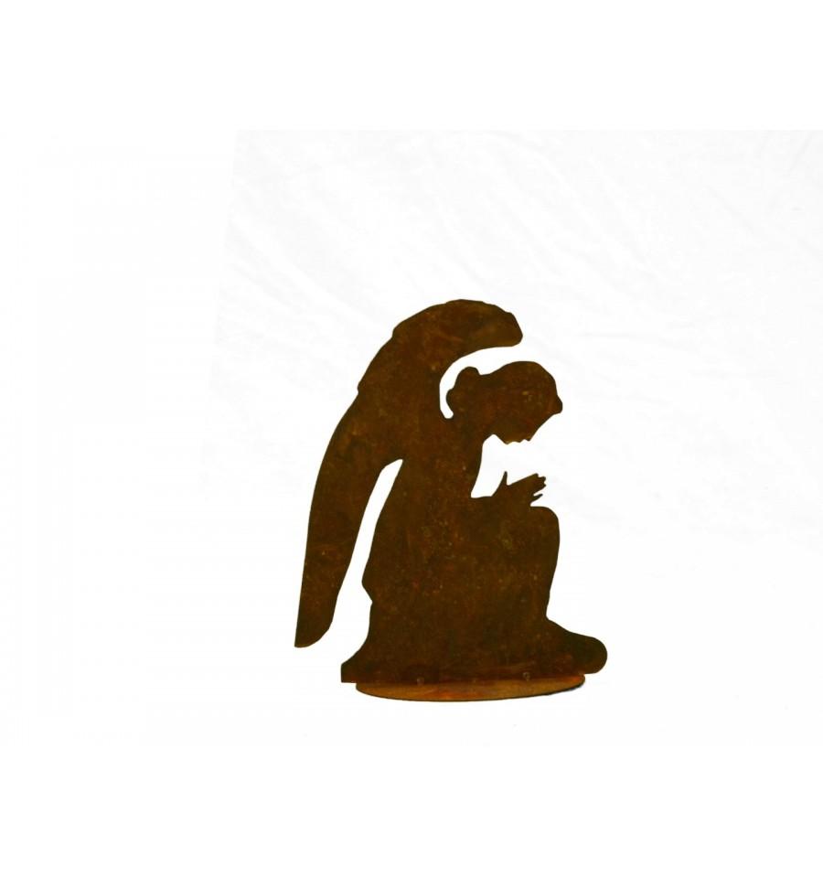 Edelrost engel gabriel engelfigur wohndeko weihnachten for Engel edelrost