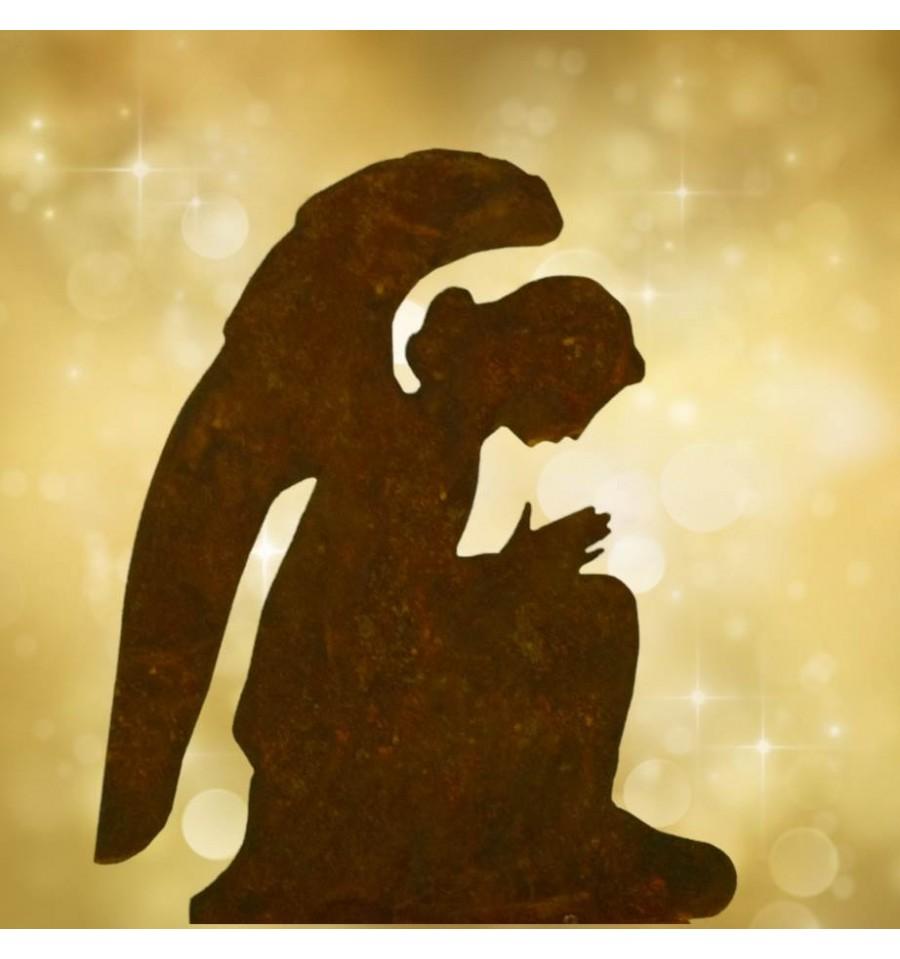 Edelrost engel gabriel 30 cm for Engel edelrost