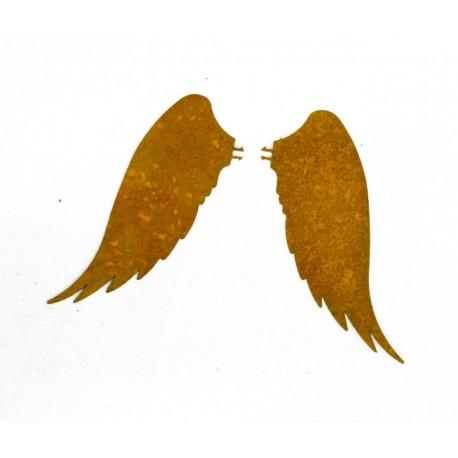 Kerzenflügel klein 9 cm - Engelsfügel für Kerze Größe 1
