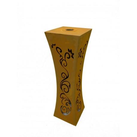 Säule Tailiert Ornament mit Brennbehälter