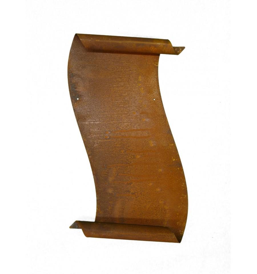 gro e edelrost schriftrolle zum beschriften 37 cm. Black Bedroom Furniture Sets. Home Design Ideas